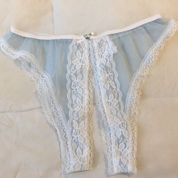 aef3044bf8a Fredricks open crotch   crotchless sheer panties L